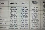 Ngày 20/8, học sinh An Giang sẽ bắt đầu tựu trường