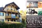 """54 tác phẩm mỹ thuật Việt Nam được trưng bày ở """"Klostervilla Adelberg"""" Đức"""