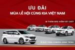 Tưng bừng mùa lễ hội cuối năm với chương trình tri ân đặc biệt từ Kia Việt Nam