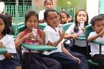 Khát khao ly sữa học đường