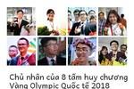 Năm bội thu trên đấu trường Olympic Quốc tế