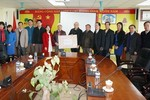 Hiệp hội các trường đại học, cao đẳng đến thăm Trường Cao đẳng Y Dược Phú Thọ