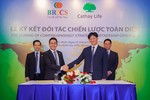 BRICS Việt Nam - Cathay Life Việt Nam: Thiết lập quan hệ hợp tác chiến lược