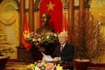 Thơ chúc tết của Tổng Bí thư, Chủ tịch nước Nguyễn Phú Trọng