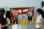 Học sinh Trường Việt-Úc gửi ông Kim Jong Un - Donald Trump thông điệp hòa bình