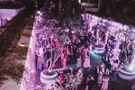 Bữa tiệc đầu tiên trong đại tiệc cưới của cặp tỷ phú Ấn Độ trong khu nghỉ dưỡng