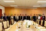 Hiệp hội đến thăm và làm việc tại Trường đại học Kinh tế Quốc dân