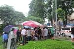 Công nhân môi trường ngã xuống sông Tô Lịch tử vong