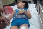 Sập tường lớp học, 6 học sinh mầm non bị thương