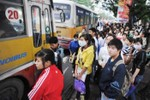 Giá vé xe buýt sẽ tăng tối thiểu 5.000 đồng từ đầu năm 2014