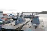 Cận cảnh tàu tuần tra cao tốc, tàng hình lớp Skjold của Hải quân Na Uy