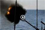 Video: Tàu chiến Nga tập trận bắn đạn thật trên Biển Nhật Bản
