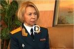 Video: Nữ quân nhân duy nhất của Nga mang hàm tướng