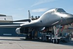 Oanh tạc cơ  B-1 Lancer tại căn cứ  không quân Ellsworth
