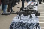 Cảnh sát vũ trang Ucraina khoe vũ khí hiện đại
