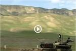 Video: Xe tăng chiến trường T-72 của Nga dàn trận tập bắn mục tiêu