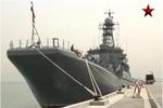 Video: Tàu đổ bộ hạng nặng Azov của Hạm đội Biển Đen đến Israel