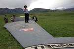 Máy bay tiếp dầu KC-135 Stratotanker của Mỹ rơi tan xác ở Kyrgyzstan
