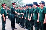 Trung tướng Lương Cường thăm và kiểm tra lớp huấn luyện quân sự