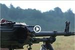Video: Xem tân binh Nga đóng ở Abkhazia thực hành bắn đạn thật