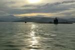 Tàu ngầm Hy Lạp đâm vào bến tàu trong thời gian diễn tập