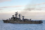 Video: Chiến hạm tuần tra Smetlivyi đã đến Địa Trung Hải