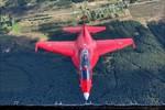 Những ảnh chụp máy bay Yak-130 ấn tượng từ trên không