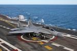 Phi công tàu sân bay Vikramaditya Ấn Độ sẽ được đào tạo ở Nga