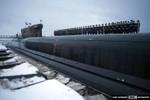 Hình ảnh mới nhất về tàu ngầm hạt nhân Alexander Nevsky của Nga