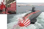 Sức mạnh tàu ngầm Ninja Kokuryu của Hải quân Nhật Bản