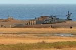 Hiện trường vụ rơi trực thăng Mỹ HH-60G Pave Hawk, 4 người chết