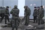 Xuất hiện video có cảnh chuẩn bị chiến đấu của quân Ucraine ở Crimea