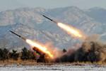 Máy bay TQ suýt trúng tên lửa của Bắc Triều Tiên
