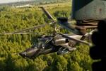 Trực thăng vũ trang Ka-52 đã xuất hiện ở Crimea