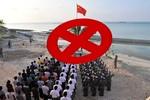 Trung Quốc tổ chức chào cờ trái phép trên các đảo chiếm của Việt Nam