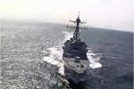 Khu trục hạm tên lửa USS Spruance (DDG-111) hành động