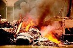 Tiêm kích J-10B TQ lắp động cơ Nga bị rơi nổ tan xác