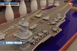 Nga hoàn thành thiết kế tàu sân bay có khả năng mang 100 máy bay?
