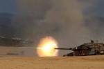 Chùm ảnh: Xem tăng chiến Leopard của Hy Lạp bắn đạn thật