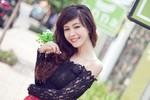 Ngắm nụ cười dễ thương của Nguyễn Huyền Thi