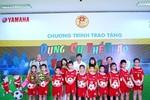 Yamaha cung cấp dụng cụ thể thao cho 50 trường tiểu học Hà Nội