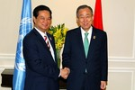 Tổng thư ký LHQ Ban Ki-moon nêu quan điểm về vấn đề Biển Đông