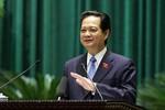 """Thủ tướng Nguyễn Tấn Dũng: """"Không dùng tiền ngân sách để trả nợ"""""""