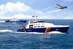 Quy định mới về màu sắc tàu cảnh sát biển