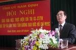 Ông Nguyễn Khắc Hưng giữ chức Bí thư Tỉnh ủy Nam Định