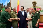 Thủ tướng gặp mặt cựu chiến binh, cựu thanh niên xung phong