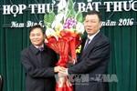 Phê chuẩn nhân sự UBND 2 tỉnh Nam Định, Cao Bằng