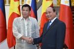 Việt Nam - Philippines tăng cường hợp tác, trong đó có an ninh biển