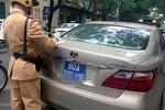 Thủ tướng yêu cầu báo cáo việc cấp biển số xe ô tô 80A, 80B cho doanh nghiệp