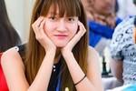 """Những bóng hồng """"tung hoành"""" tại giải cờ vua quốc tế HDBank"""